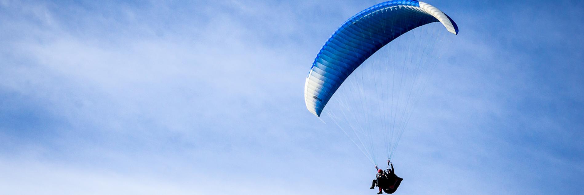 Обучение полетам на параплане в Харькове